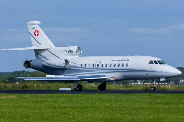 Swiss Air Force Dassault Falcon 900 T-875