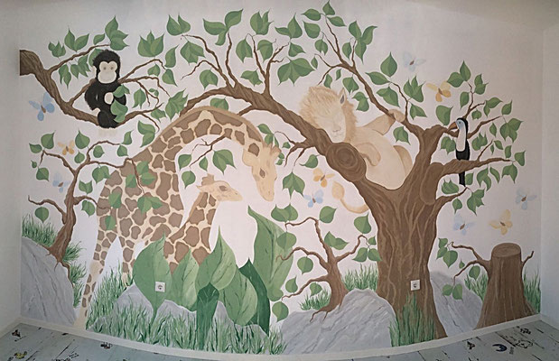 Dschungelkinderzimmer