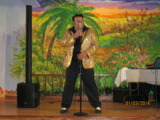 Show at Sandy Oaks RV Park, Beverly Hills, Florida, Januar 2014
