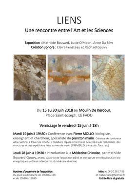 Moulin de Kerdour - LE FAOU (Juin 2018) + conférence par le biologiste Pierre Mollo // Introduction à la médecine chinoise par Mathilde Bouvard