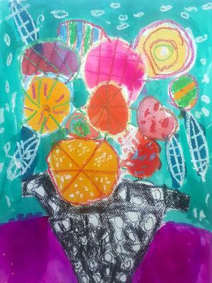 Cours arts plastiques enfant Van gogh Grenoble Histoires d'artistes