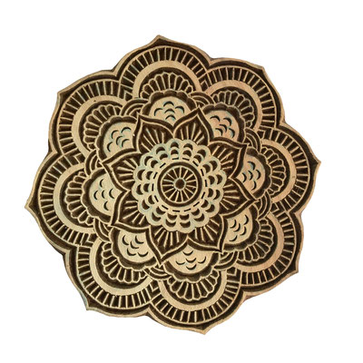 Indian wood block printings stamps New Delhi India  - buy online