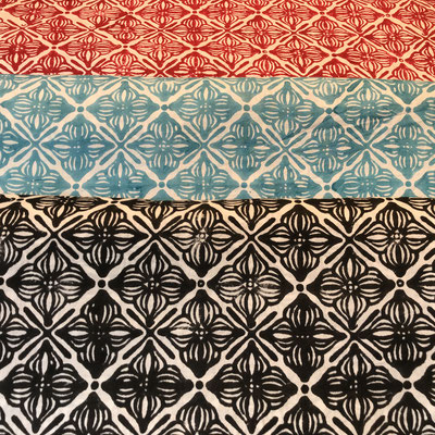 Block Printed Fabrics Cambric Cotton. Shop online. Worldwide delivery