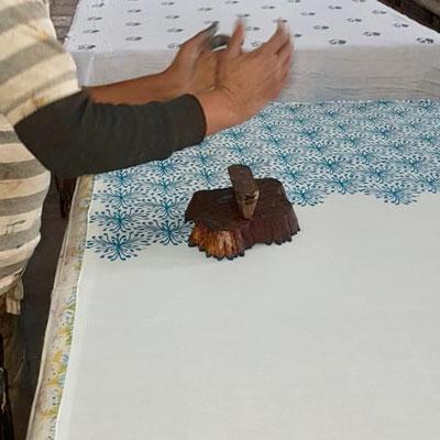 Block Print Fabrics, hand printed in India Maasa Production Pvt. Ltd. New Delhi