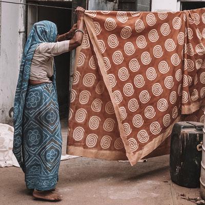 Block Print Fabrics Rajasthan India