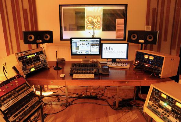 recording studio, regie 1