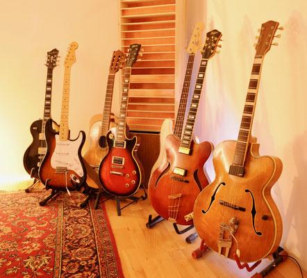 guitar recordig