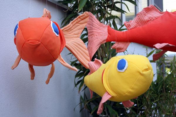 Fische, Detail