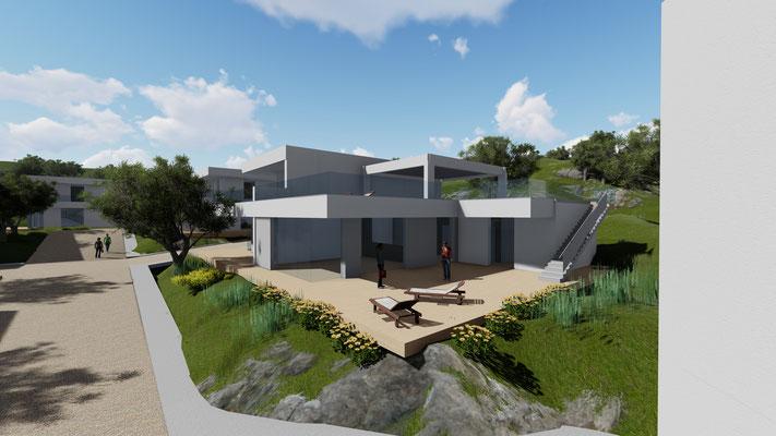 P.d.C, convenzionato...per la costruzione di 20 ville in Messina. Progettisti Ing. G. Crinò- Arch. P. La Spina . Nulla osta Soprintendenza 12 04 2019