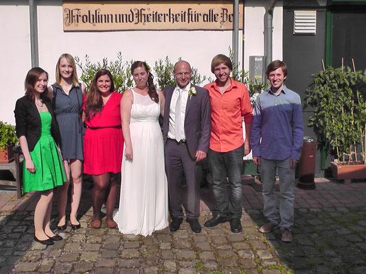 Hochzeitsfeier in Schwerte - 16.07.2016