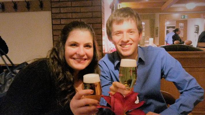 Eine kleine Erfrischung nach der Weihnachtsfeier Rotary Clubs - 15.12.2015, Schwerte, Dortmund