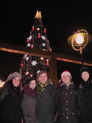 Nach unserem Wanderkonzert auf dem Dortmunder Weihnachtsmarkt - 17.12.2014