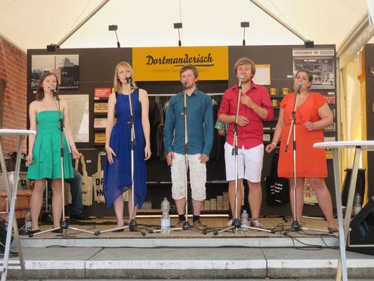 Fest der Chöre, Musikfestival KLANGVOKAL - 04.06.2016, Innenstadt, Dortmund