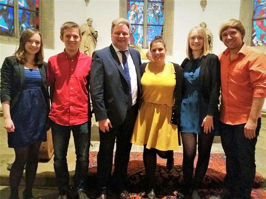 Kirchliche Trauung in Dortmund, bei der wir von Thomas Henneböhl unterstützt wurden - 28.10.2017