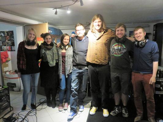 Nach der Aufnahme bei Hezzman Records - 15.05.2016, Bocholt