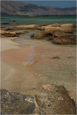 Presqu' île d' Elafonisi, Crète