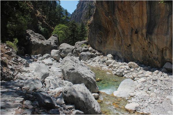 Les Gorges de Samaria (Crète)