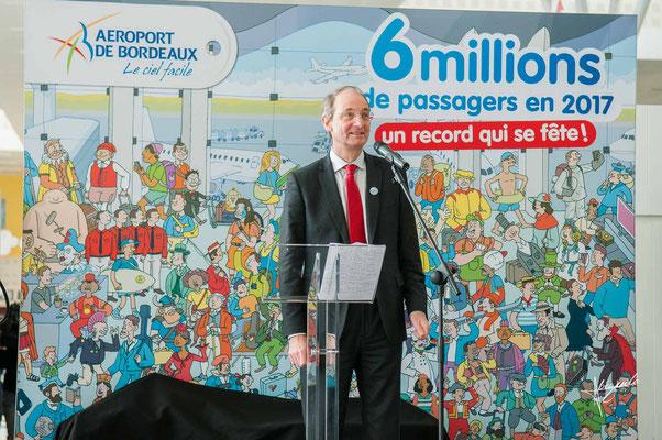 directeur de l'aéroport de Mérignac