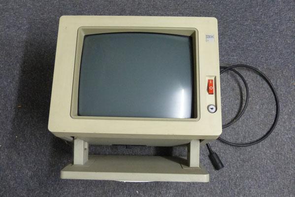 Ein IBM-Bildschirm (Vorderansicht)