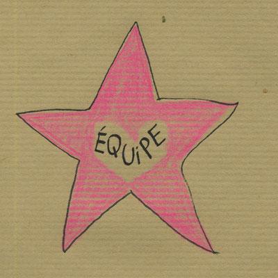 """Equipe  """"Je suis une danseuse étoile"""" de Florence A.L. Klein"""