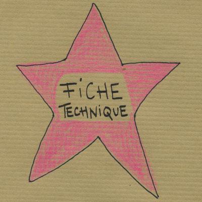 """fiche technique  """"Je suis une danseuse étoile"""" de Florence A.L. Klein"""