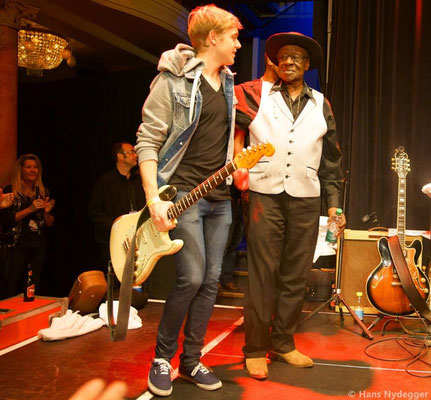 Jam at Blues Festival Lucerne 2016