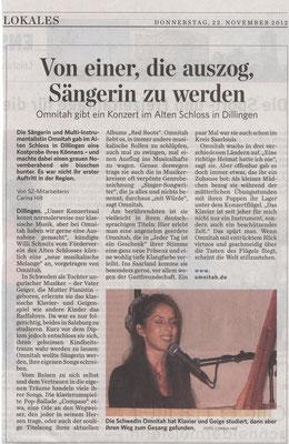 "Dillingen, ""Schloss Dillingen"" 2012"