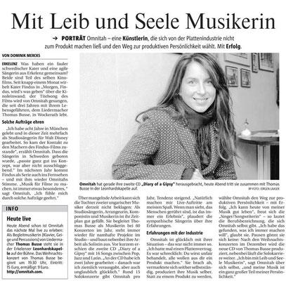 Interview Rheinische Post 2006