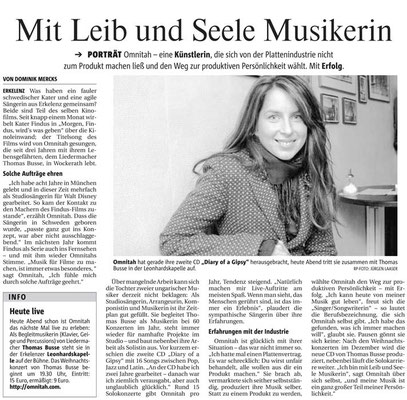 Interview Rheinische Post 2006