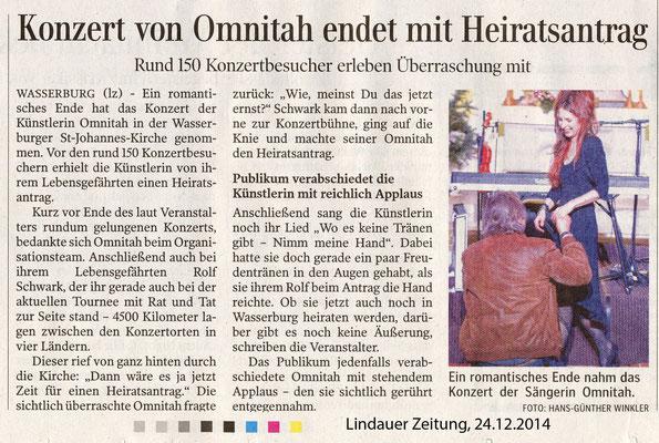 "Wasserburg a. Bodensee, ""Ev. Kirche"" 2014"