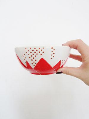 handgeschilderde kom / hand painted bowl
