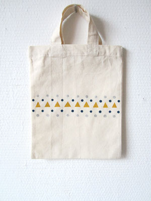 handgeschilderde tas / hand painted tote bag