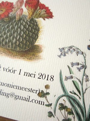 S&Z - bruiloft uitnodiging / wedding invitation