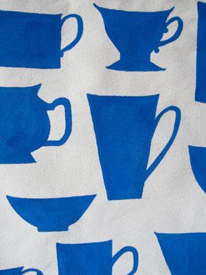 handgeschilderde mokken en kopjes / hand painted mugs and cups
