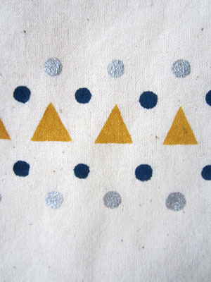 handgeschilderde tas / hand painted tote bag