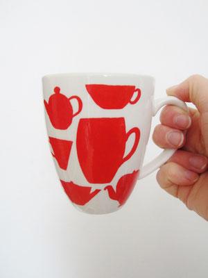 handgeschilderde mok / hand painted mug