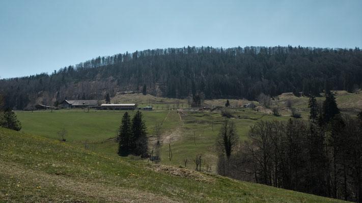 Ein letzter Blick zurück zum Schattberg und zur Bürten