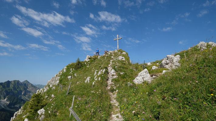 Gipfelkreuz der Märe