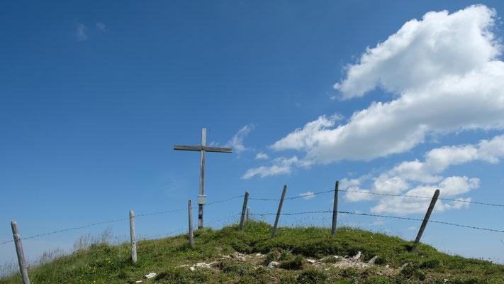 Gipfelkreuz der Schibe