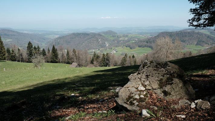 Schöne Aussicht vom Ängiberg