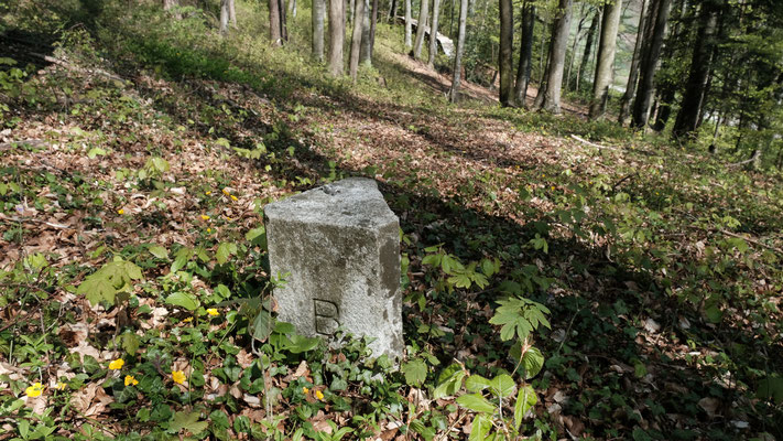 Grenzstein Reigoldswil/Lauwil/Bretzwil
