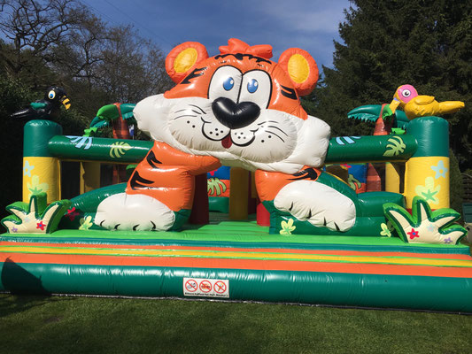 Hüpfburg Tiger