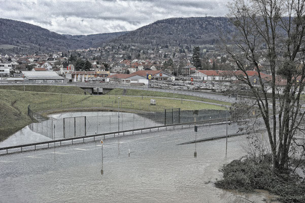 Miltenberg am Main - Hochwasser 01/2011