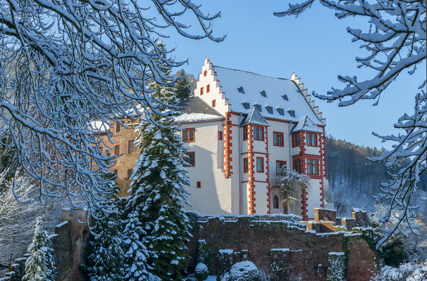 Miltenberg am Main im Winter - Februar 2018