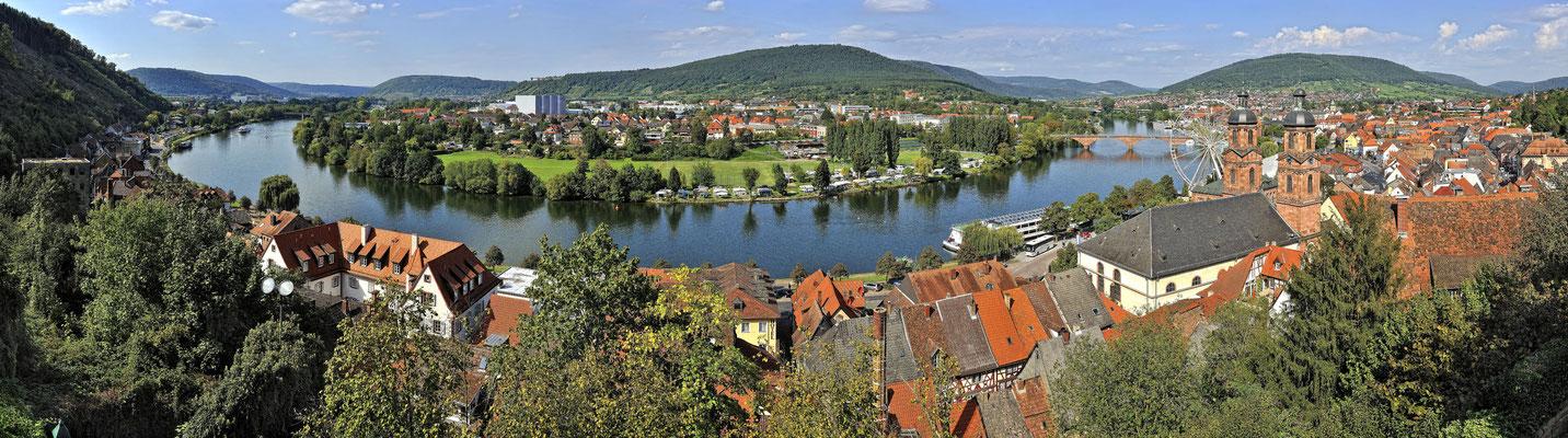 Miltenberg Panorama Mainschleife