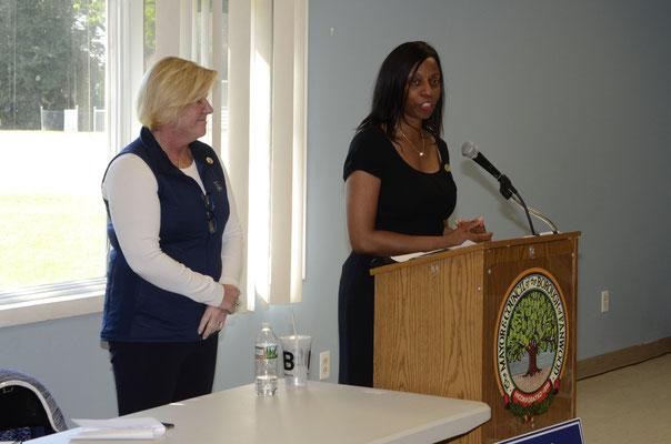 Hillside Mayor and Freeholder candidate Angela Garretson