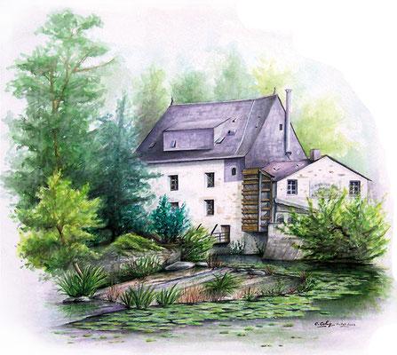 Le moulin de Crevant