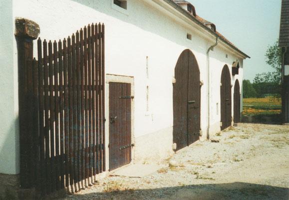 zweiflügeliges Hoftor