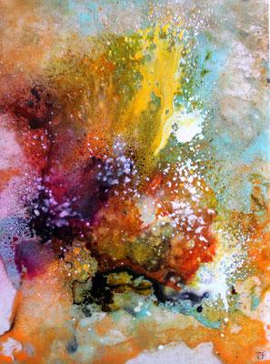 """""""PLEXISSIMA"""" 2014 Encre et acrylique sur plexi - 40 x 30 cn"""