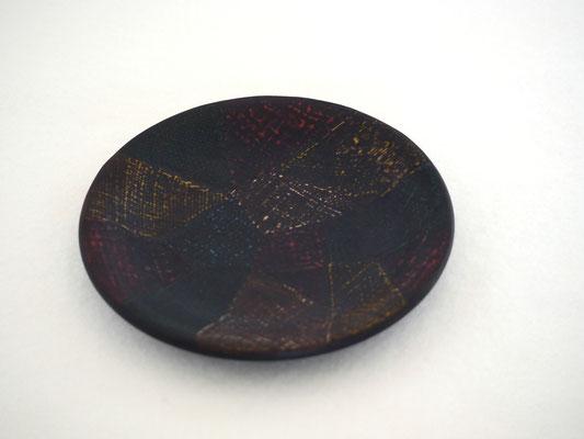 用の器まめざら 布目皿|鎌倉漆工房いいざさ